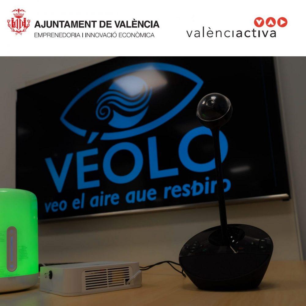 Proyecto de calidad del aire interior en colaboración con el Ajuntament de València, Concejalía de Emprendimiento e Innovación Económica